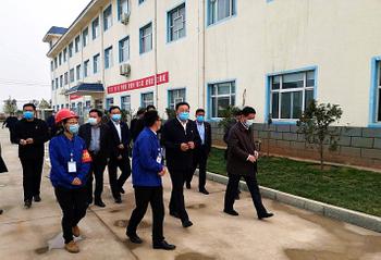 鶴壁市委書記馬富國蒞臨元昊調研安全生產工作